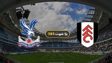 صورة مشاهدة مباراة فولهام وكريستال بالاس بث مباشر اليوم 28-2-2021 الدوري الإنجليزي
